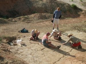 Flitner Ranch excavation